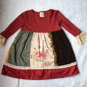 Persnickety dress size 4T